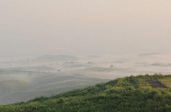 大観峰(だいかんぼう)、九重方面の雲海