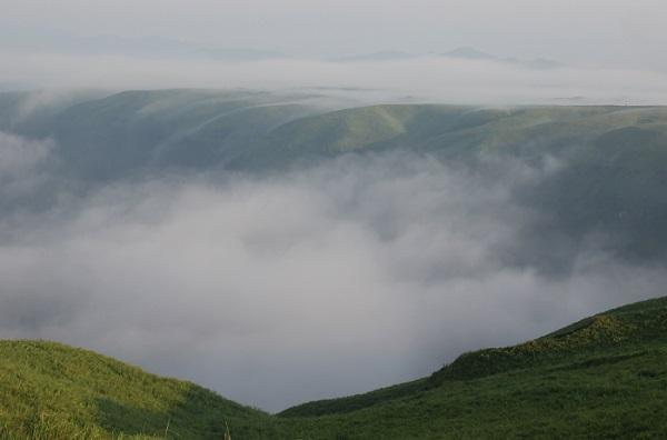 大観峰(だいかんぼう)美しい雲海