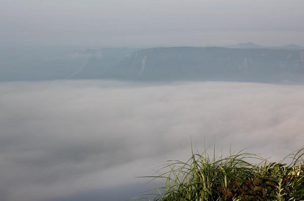大観峰 雲の上にいるような景色